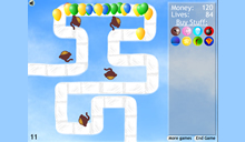 jeu Bloons Tower Defense 2