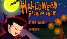jeu Halloween fashion show