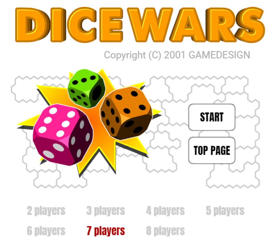 jeu Dice wars